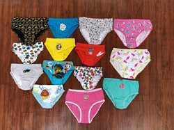 Kids Cotton Mixed Printed Colorful Briefs