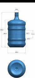 Shreeji Plastic 18 Litter PET Water Bottle