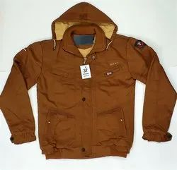 Casual Jackets Brown Gents Jacket