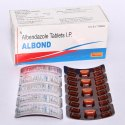 Albendazole Tablet, Packaging Type: Strip, Packaging Size: 10x10 Tablets
