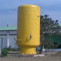 Fiberglass Chemical Storage Tank