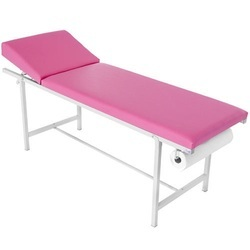 Examination Bed With Towel Holder