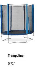 72 Inch Trampoline