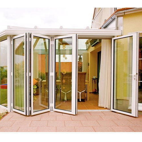 White Upvc Folding Sliding Door Rs 600 Square Feet Ja