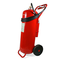 Trolley Mounted 6.5 Kg Co2 Type Fire Extinguisher
