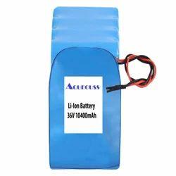 10400mAh 36V Li Ion Battery