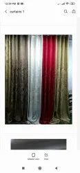D Decor Cotton Polyester Mix Curtains, For Multipurpose