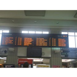 LED Departure Boards