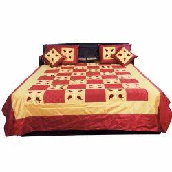 Jaipuri 5 Piece Silk Double Bedspread 332