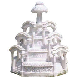 White Stone Fountain