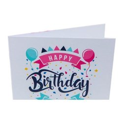 2-3 Days Birthday Card Printing Service, India