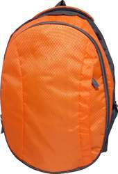 Caris Orange Backpack Bag