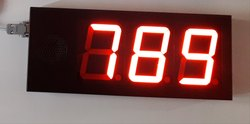 Digital Event Counter Display Board