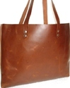 Shopper Leather Ladies Tote Bag