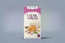 Clear Throat Herbal Tea