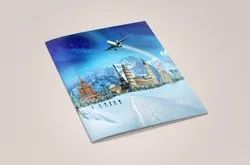 Offset Multi Colour One Time Tourism Brochure, In Pan India, Dimension / Size: A4