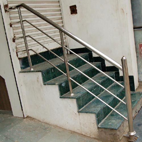 Pipe Stainless Steel Ramp Railings Manufacturer From New