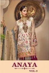 Textile Mall Shree Fabs Ananya Vol-9 Pakistani Style Salwar Kameez Catalog Collection