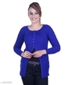 Ladies Blue Designer Top