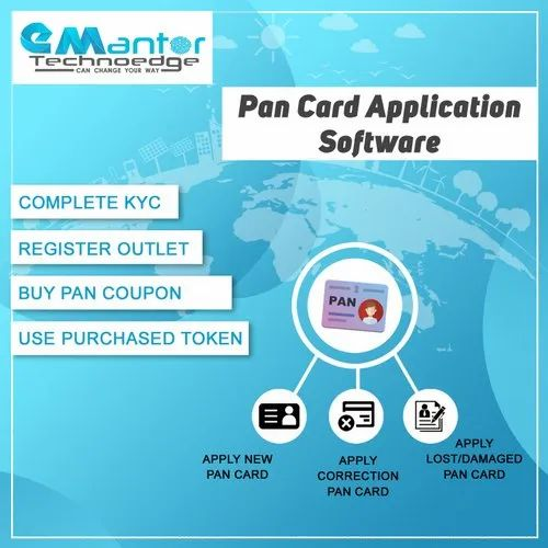 Pan Card Application Software IT / Technology Services