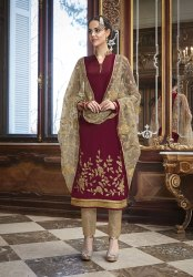 Pr Fashion Launched Wedding And Festive Season Designer Straight Suit
