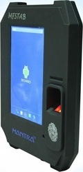 Mantra MFSTAB With MiFare Card Reader Aadhar Based Biometric Attendance Machine with Card