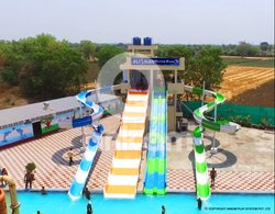 Combination Water Park Slide