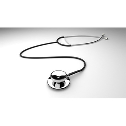 Double Sided Diagnostic Stethoscope, Packaging Type: Box
