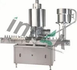 Fully Automatic Single Head Capping Machine