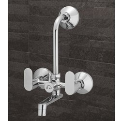 Slim Wall Mixer with L-Bend