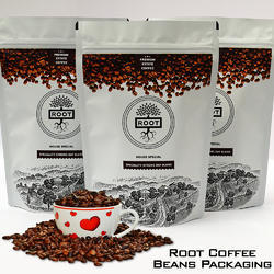 Root Coffee Beans Packaging