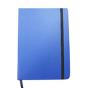 Blue Elastic Band Notebook