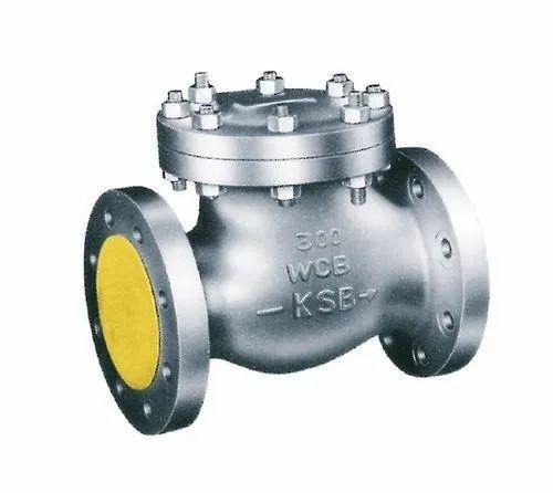 KSB Cast Steel Check Valves