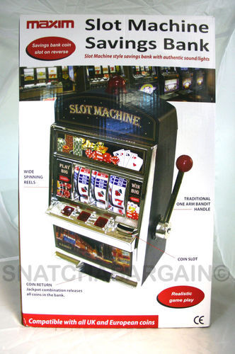 Vegas Slot Machine Game Video Game Piggy Bank Mini Slot ...