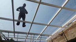 Glass Roof Fixing Service