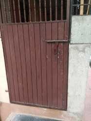 Hinged Single Door Mild Steel Safety Door, for Residential