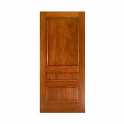 Dark Brown Interior Wood Door
