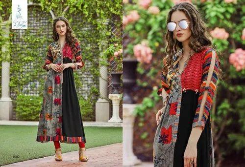 2b049861f8 Diksha Fashion Anarkali Roop Masti Vol - 1 Designer Kurtis Catalogue ...
