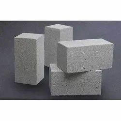 Rectangular Gray Autoclaved Aerated Concrete Block