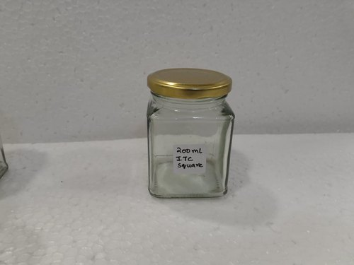 200 ml ITC Square Jar with Cap