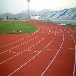Synthetic Acrylic Running Track Flooring