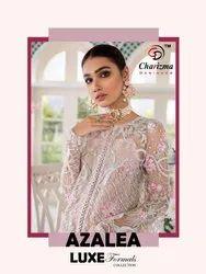 Charizma Designer Azalea Luxe Formals Collection Pakistani Style Salwar Kameez Catalog Textile Mall