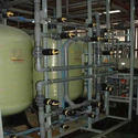 Ion Exchange RO Water Treatment Plant