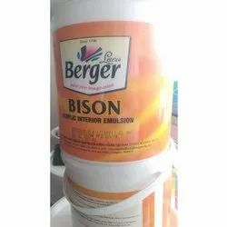 High Gloss White Berger Interior Emulsion Paint, Packaging Size: 20 L