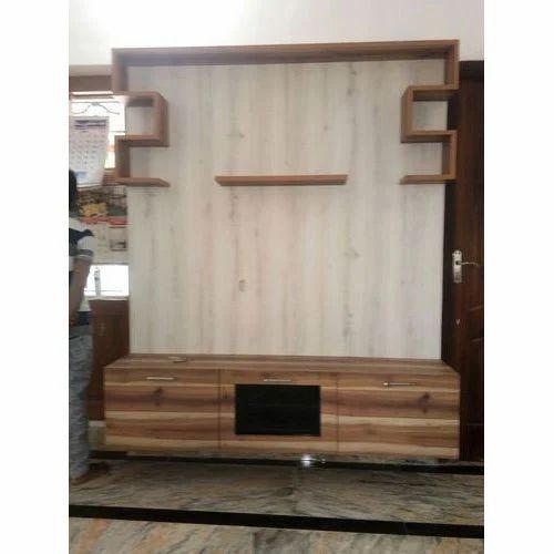 Brown Modern Living Room Tv Unit