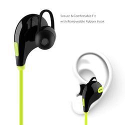 Wireless Bluetooth Jogger Sports Handfree Stereo Headphones With Mic Running Hiking Gym GREEN