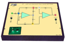 Op - Amp as Precision Full - Wave Rectifier Trainer