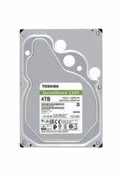 TOSHIBA 4TB 3.5 SERVEILLANCE 128MB