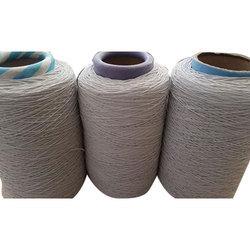 White Polyester Covered Rubber Thread, For Textile