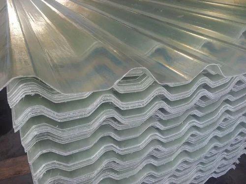 Fiberglass Reinforced FRP Roofing Sheet